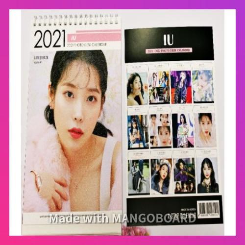 Iu 2022 Calendar.Iu Iu Lee Ji Eun Desk Photo Calendar 2021 2022 Desk Standing Calendar Shopee Philippines
