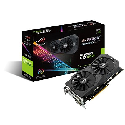 ASUS STRIX GTX1050TI-4G 128BIT 4GB DDR5 Video Graphics Card