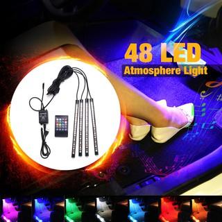 ❤❤Car Auto Floor Lights,Waterproof Glow Neon Light Strips