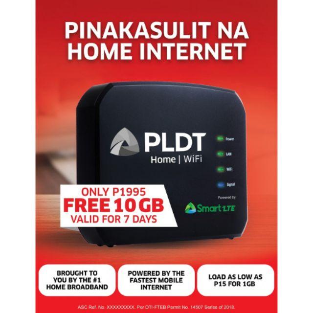 Smart LTE PLDT HOME WiFi | Shopee Philippines