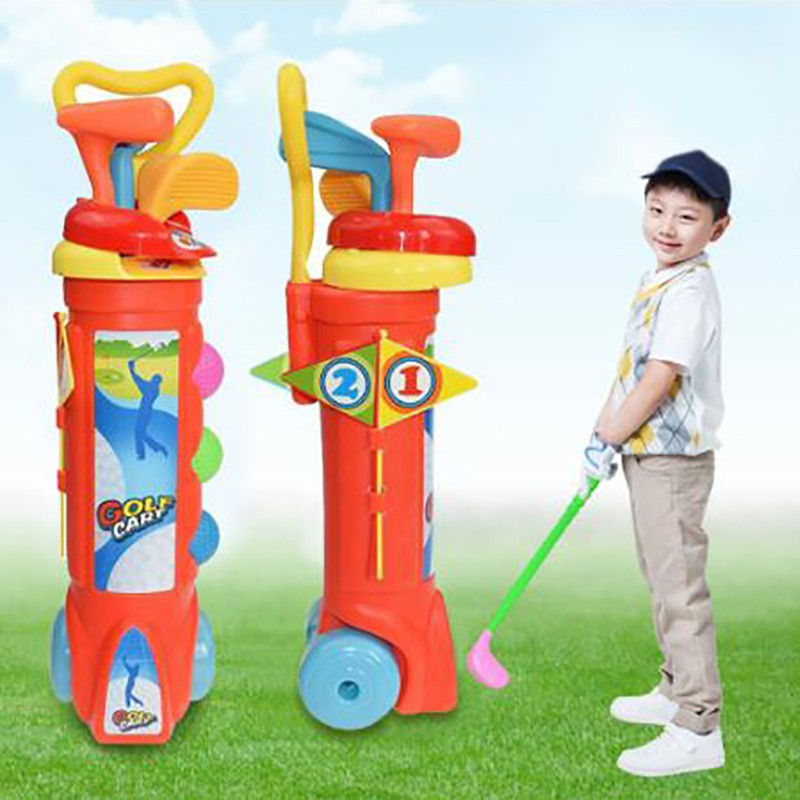 Hot Sale 1 Set Outdoor Children Golf Club Toys Plastic Mini Golf Sports Educational Toy Shopee Philippines