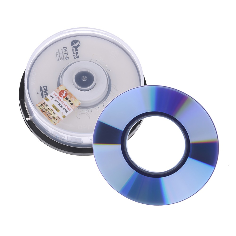 photograph relating to Printable Dvd Rohlinge identify 10Computer systems/Box 1.4GB 30Min 1-8X Blank Mini 8CM DVD-R DVD Recordable Disc White Fresh new