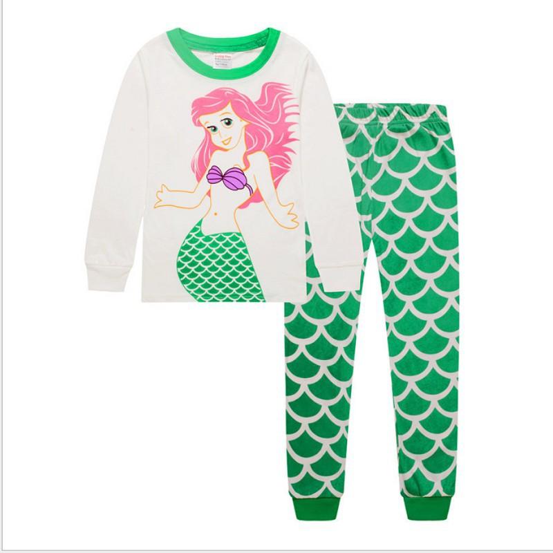 Cute Kids Girls Baby Shark Outfit T Shirt+Shorts Pajamas Set Nightwear Beachear