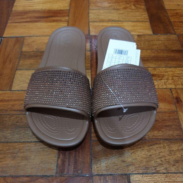 Croc Womens Sloane Slide Slide Sandal