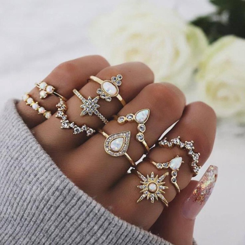 NEW Plain Knuckle Ring Gold Silver Thin Rings Band Women Fashion Jewelry Gift