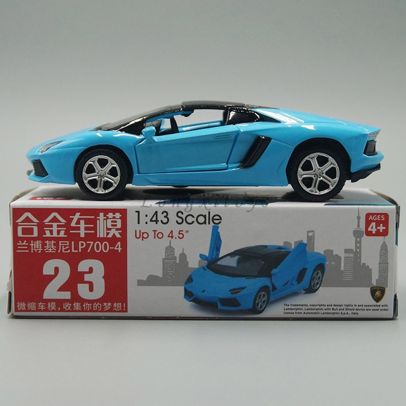 1 43 Diecast Car Model Toy Lamborghini Aventador Lp700 4 Pull Back Car Shopee Philippines