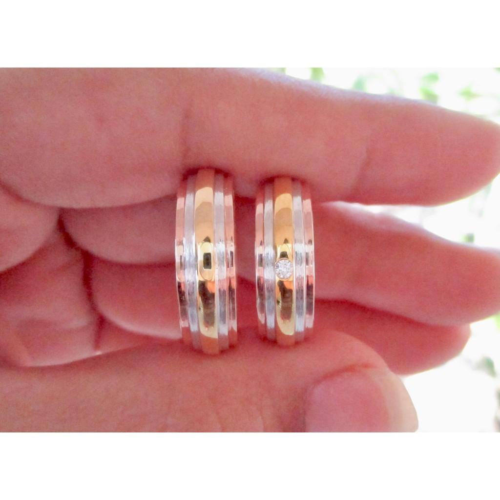 Rose Gold Mens Wedding Ring 14k | Shopee Philippines
