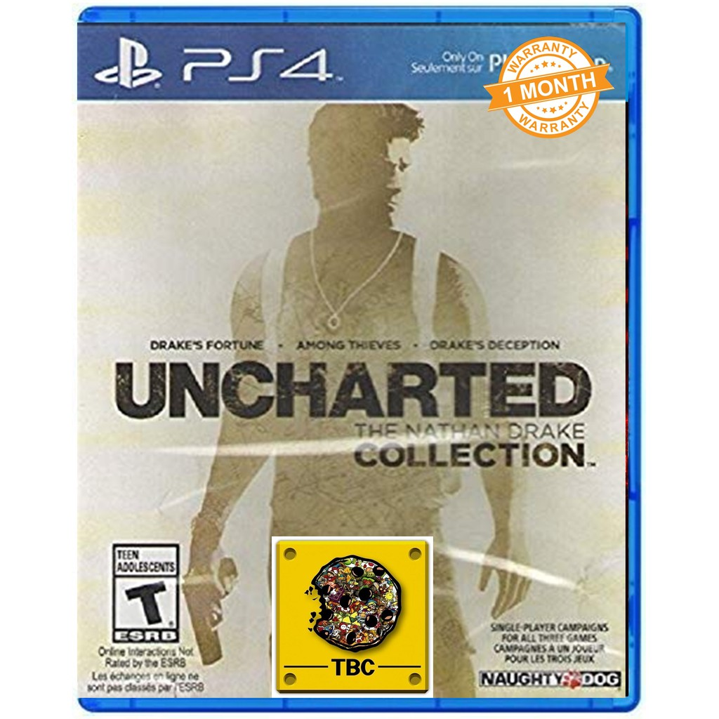 Uncharted The Nathan Drake Collection Playstation 4 R2