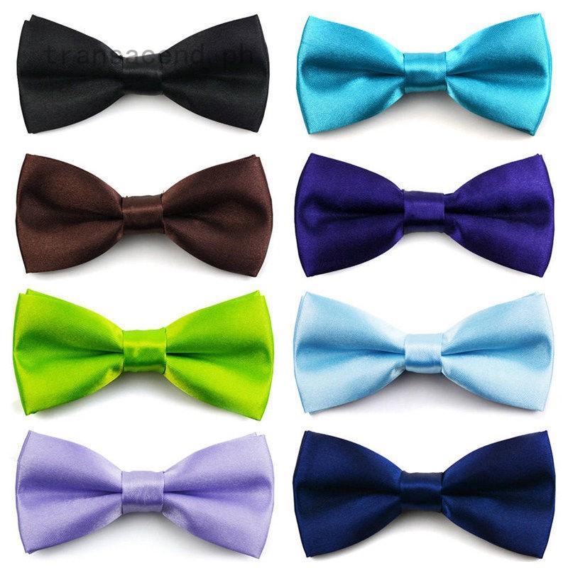 Boys Toddler Infant Bowtie Children Kids Pre Tied Wedding Party Bow Tie Necktie