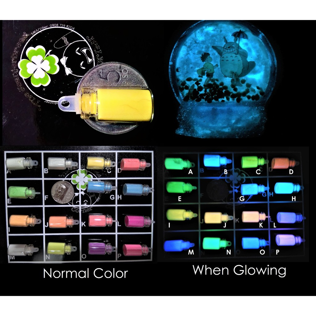 Glow in the Dark Luminous Powder for UV resin nd other craft