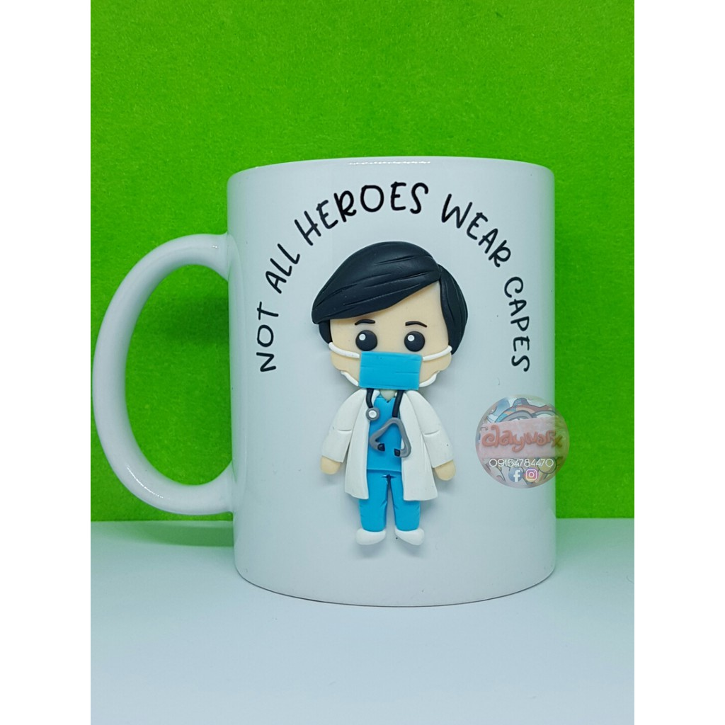 Hero Mug Frontliner By Clayworx Shopee Philippines