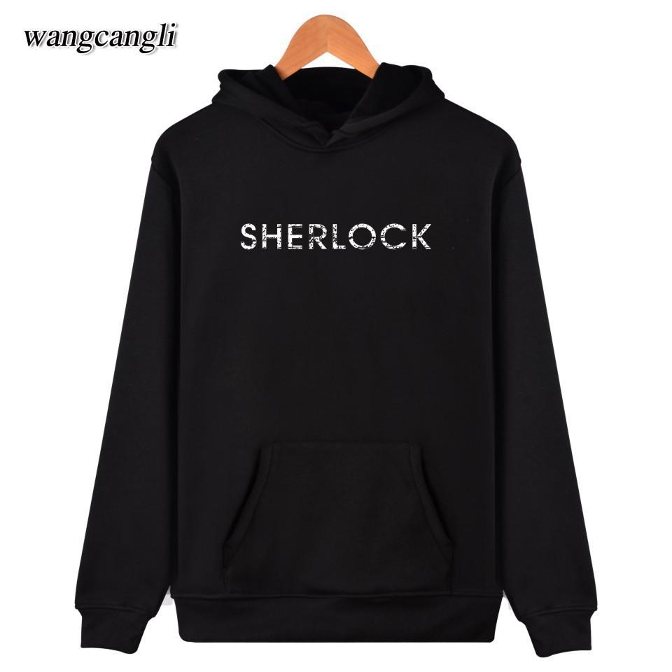 Mens Sherlock Holmes 1 Hoodie Sweatshirt