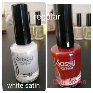 Sassy Nail Polish 12ml part3   Shopee Philippines