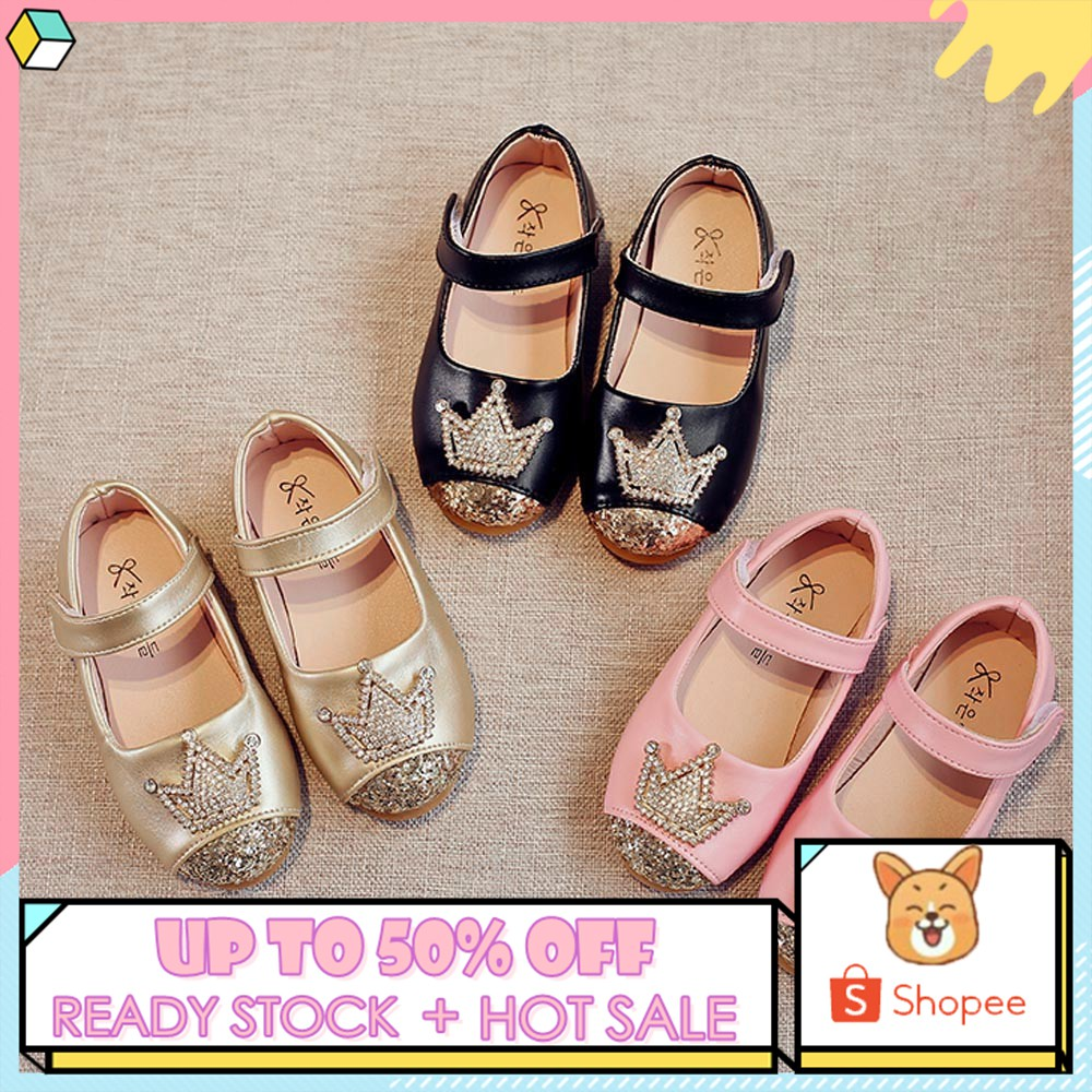 Voberry Summer Baby Girls Crystal Bowknot Pearl Princess Sandals Casual Shoes