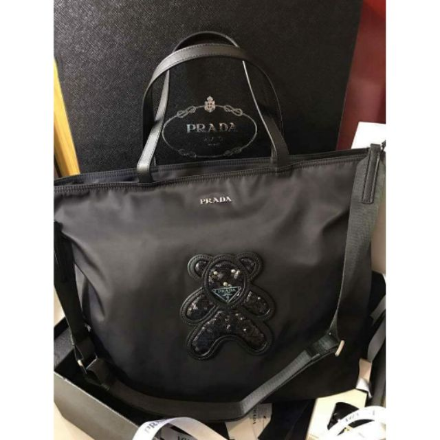 a9573d018eb6 Prada Bear Tote Bag | Shopee Philippines
