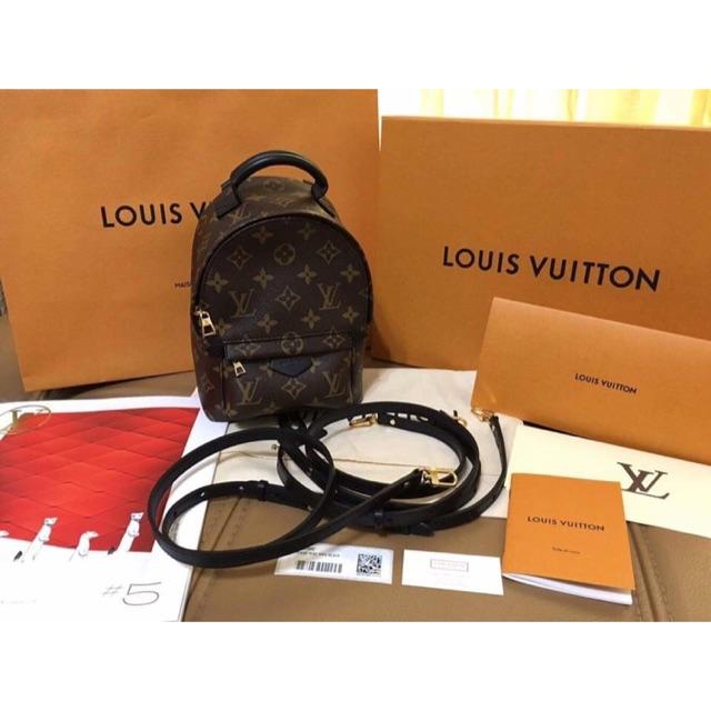 971f58065059f Original Preloved LV Palm Spring Mini Backpack