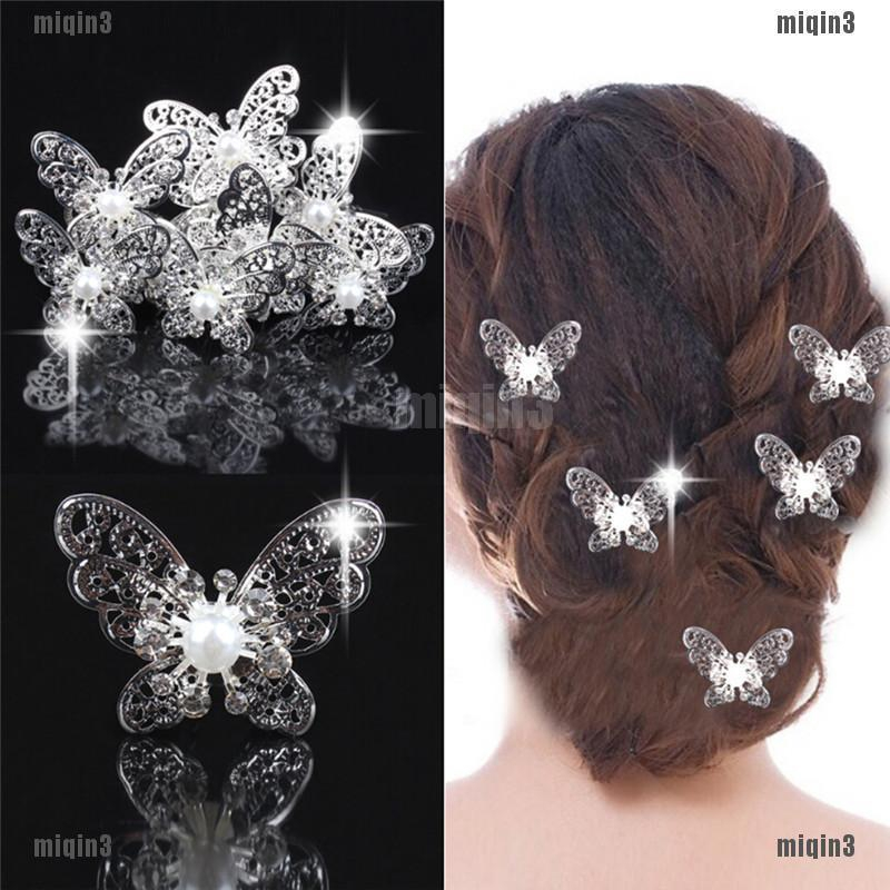 Gold Butterfly Hair Clips Butterfly Hair Pins Butterfly Bobby Pins Wedding Hair Pins Wedding Bobby Pins Wedding Hair Clips Woodland Weddings