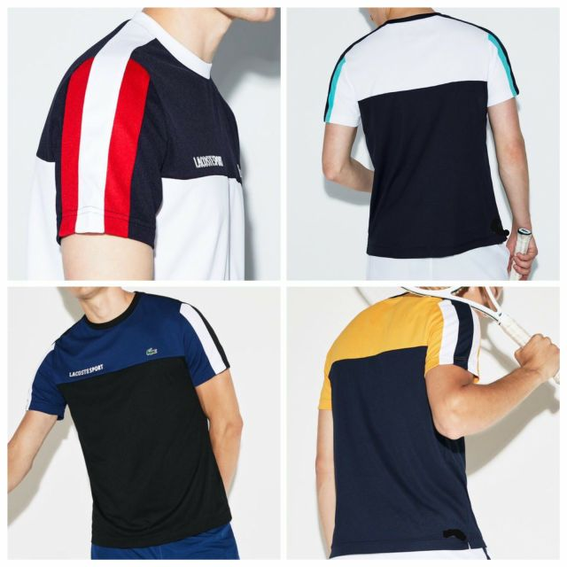 BIG SALE Lacoste Men SPORT T-Shirt Authentic Overruns