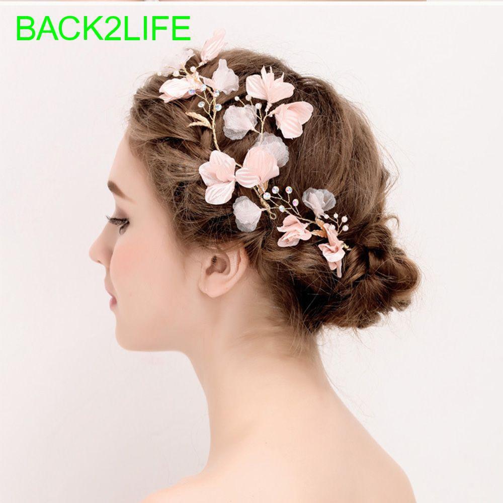 Flower Hair Clips Hair Accessories Bronze Clips Victorian Hair Clips Hair Clips Pink Hair Clips