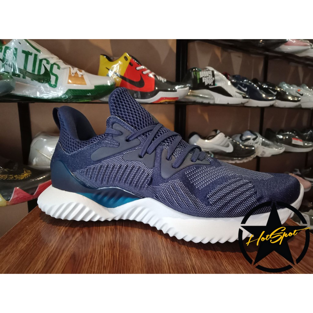 outlet store 263dc d3610 Adidas Alpha bounce Beyond BLUE for Men  Shopee Philippines