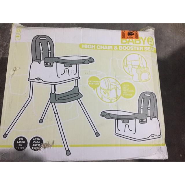 2-in-1 high chair/booster chair JAX