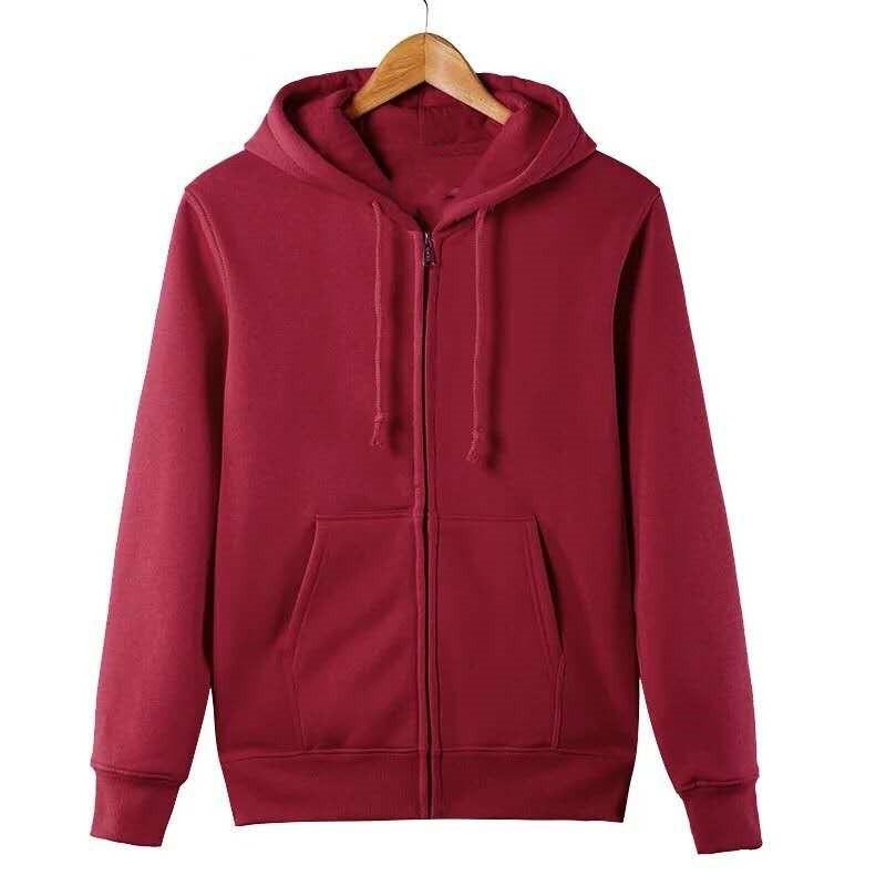 Hoodie Jacket For Mens Unisex With Hood Korean Fashion Sport