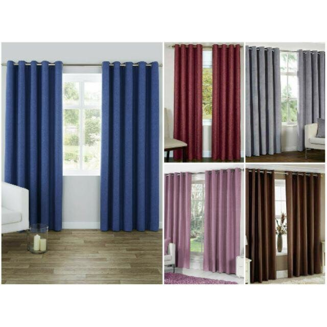 Modern Grommet Curtain blockout 140cm*220cm/pcs