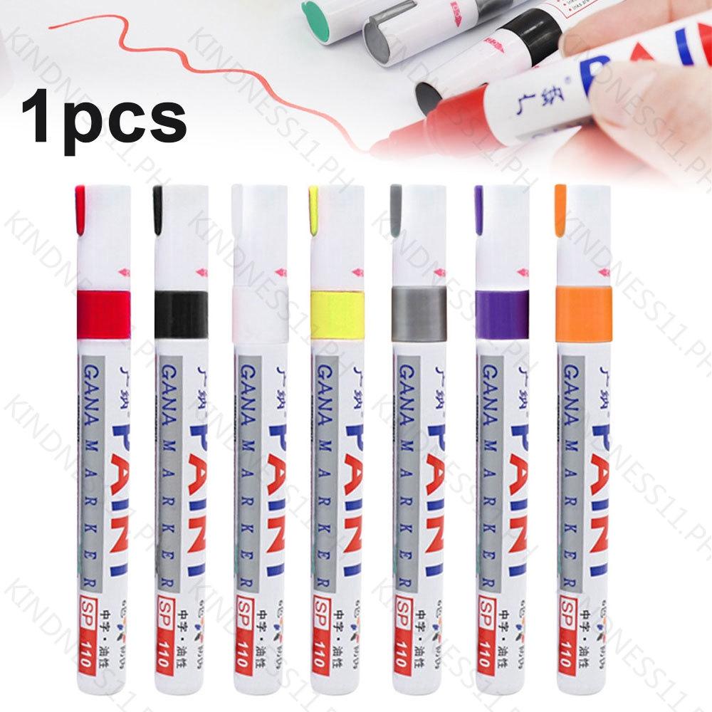 7Colors Waterproof Permanent Paint Marker Pen Tyre Tire Tread Rubber Metal Accessories Tyre Paint Pen