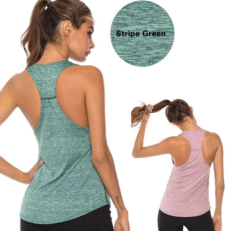 XinTai Fashion Design La Paris Sports Leak Navel Yoga Vest for Women Black