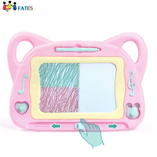 Graffiti board Best Gift for Boys and Girls Portable Cartoon Colorful Childrens Magnetic Drawing Board Home Hand-Painted Childrens Educational Toy Drawing Board