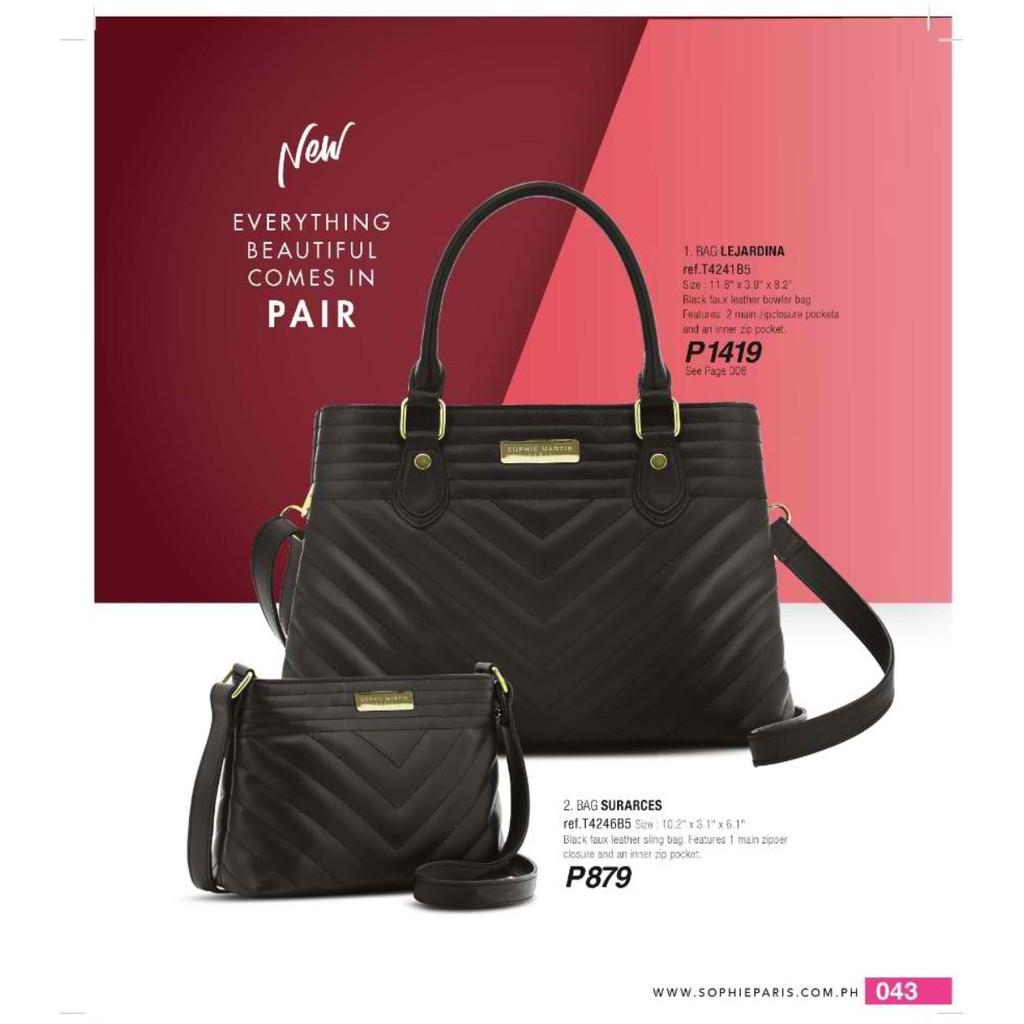 Combination Maroon   Pink Faux Leather Bowler Bag  63ad3e4e3a06e