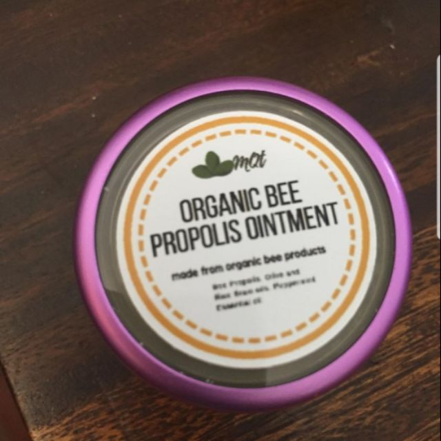 MQT Bee Propolis Organic Ointment (10 or 20gms)