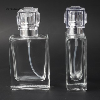 749eee303f41 √OA 30ml Clear Glass Travel Refillable Cosmetics Empty Spray ...