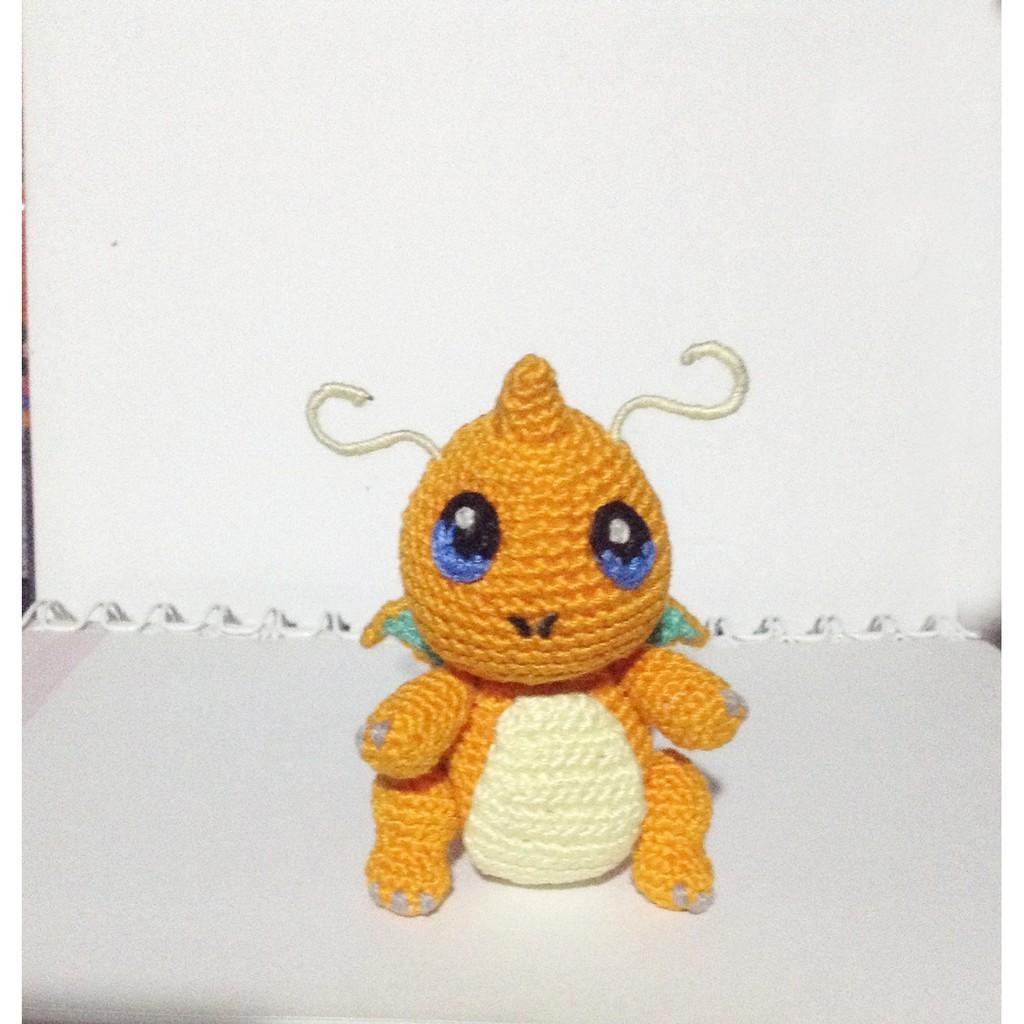 Dragonite Amigurumi Plush by yarnmon | Pokemon crochet pattern ... | 1024x1024