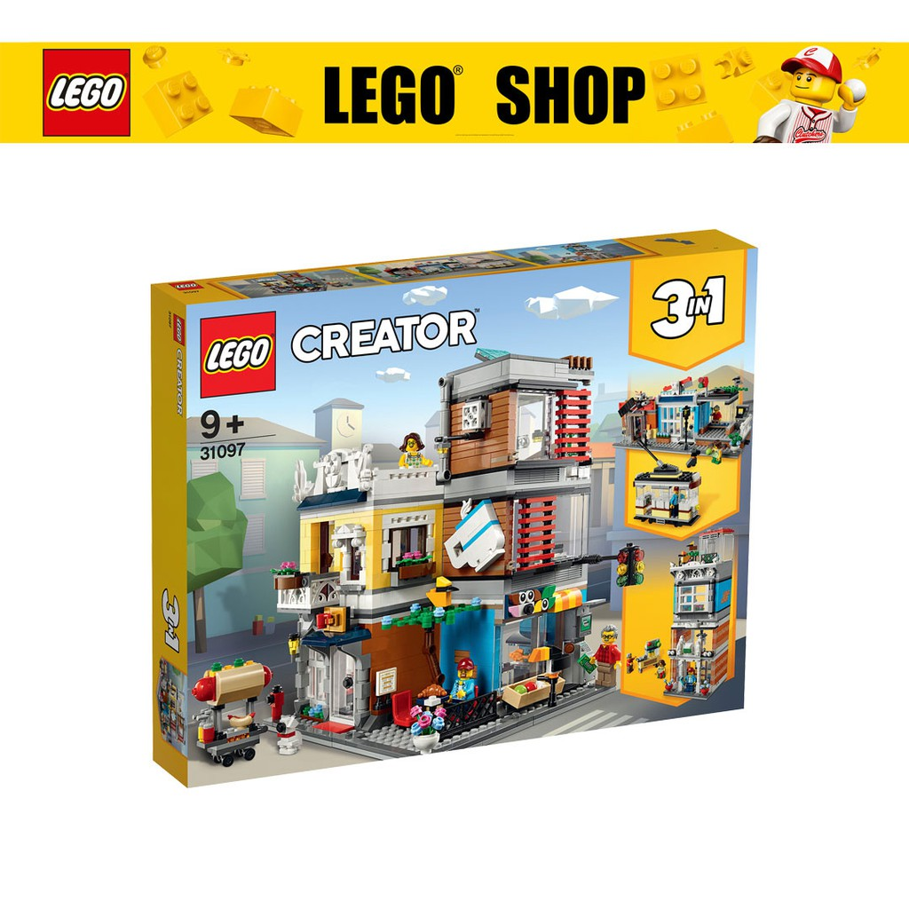 LEGO CREATOR 3in1 Townhouse Pet Shop & Café