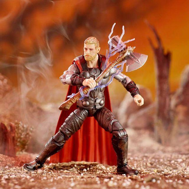 Marvel Legends ~ THOR Action Figure ~ Avengers infinity war ~ Thanos BAF