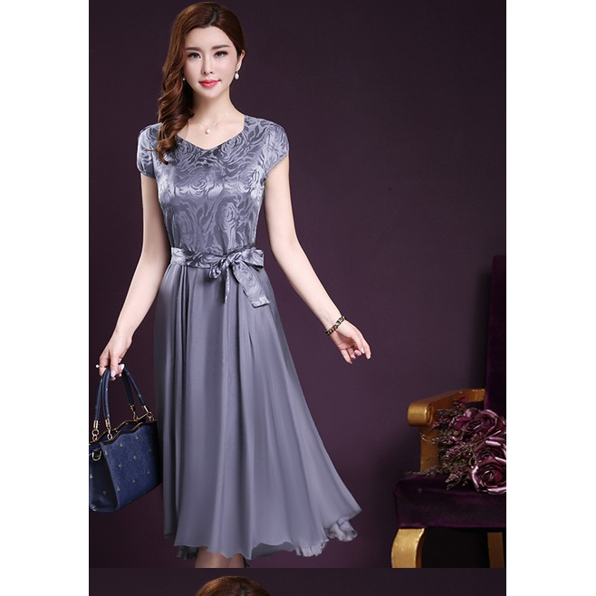 5a5634ab28c Women s Swing Elegent Vintage Sleeveless Casual Party Dress