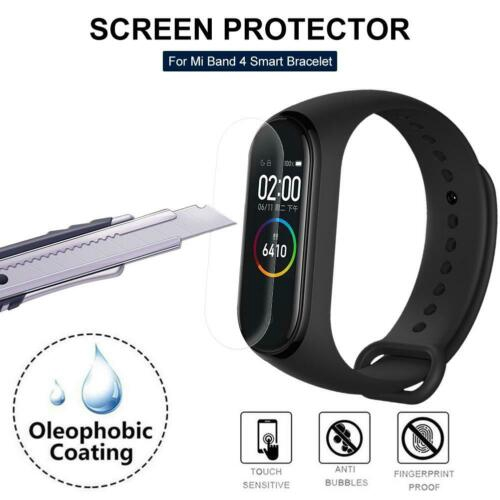 ♔P&M♚9P* For Xiaomi Mi Band 4 Smart Protective Film Wristband Bracelet Full  Screen protector
