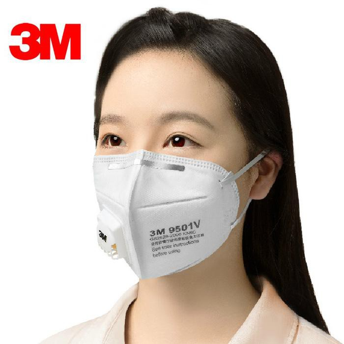 950 Dust Protection 3m Hanging Exhalation Valve Mouth Masks Filter Respirator