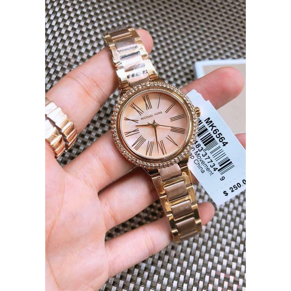 d23299555457 MICHAEL KORS Bradshaw Two-tone Watch MK6359 Oversized