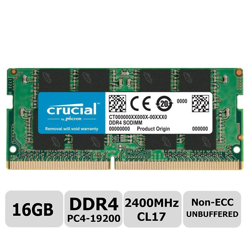 Crucial 8GB Single DDR4 2400MHz PC4-19200 Desktop RAM 288-Pin Memory 2400 Dimm