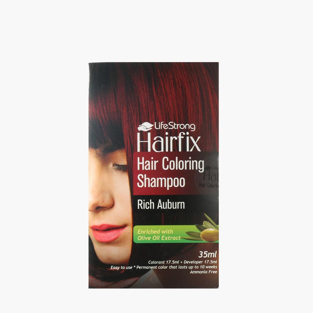 Hairfix Rich Auburn Hair Color Shampoo