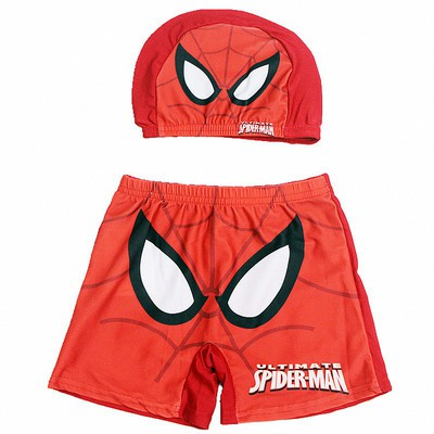 Boys swimming suit Mickey Mouse shorts top set 2 piece trunks surf swimwear