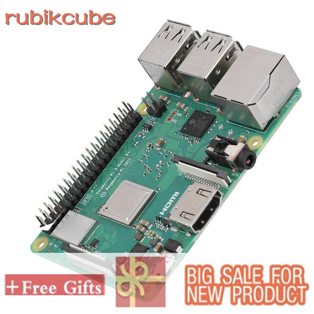 Original Raspberry Pi 3 Model B PLUS Quad Core 1 4GHz 64bit CPU  Wifi&Bluetooth 3B+E14Motherboard