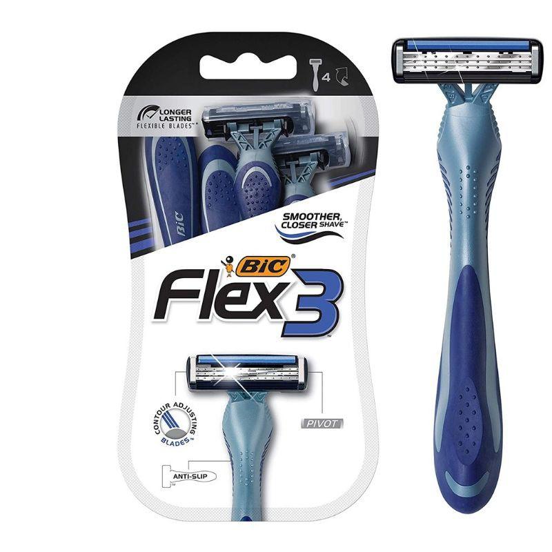 COD] 1Pcs BIC Flex 3 Shaving Razors.   Shopee Philippines