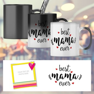 Customize Ceramic Mugs Mothers Day Birthday Christmas Gift Ideas Best Mama Ever Shopee Philippines