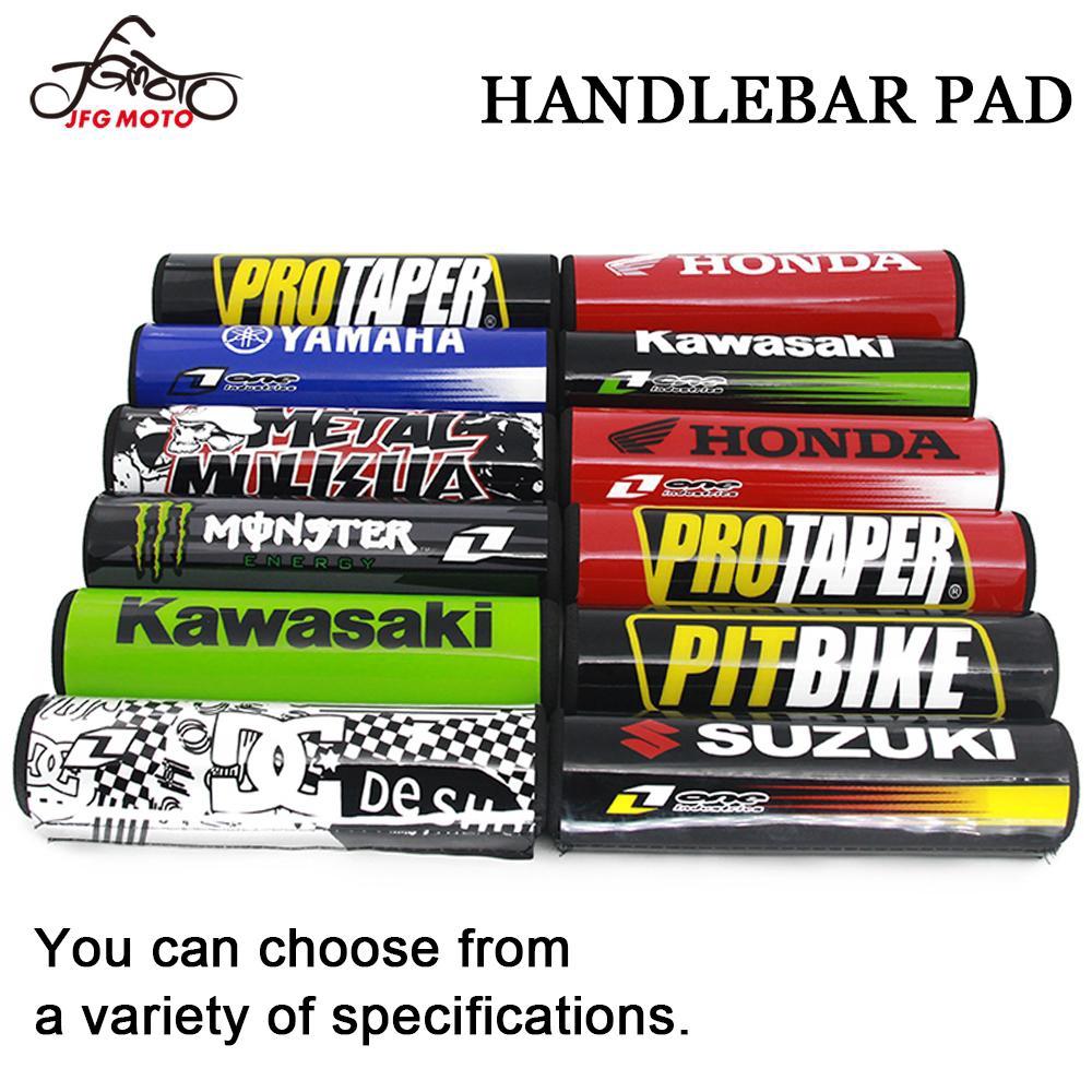 "7.9/"" Red PRO DIRT BIKE Motorcyle Motorcross Handlebar Cross Bar Pad"