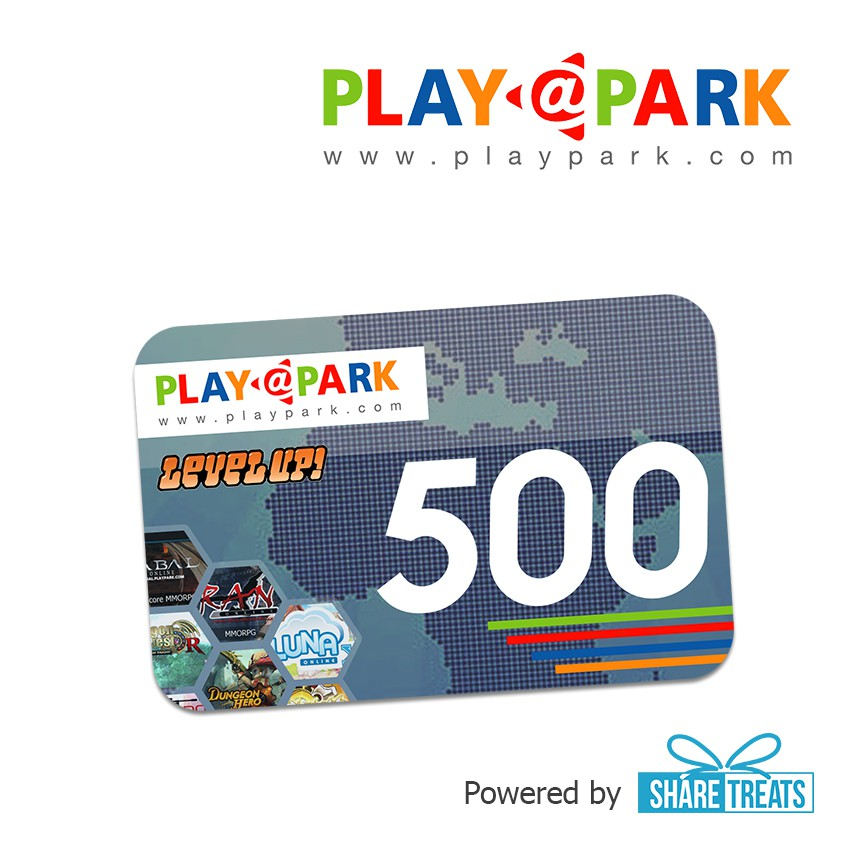 Playpark (LevelUP) 500 LU SMS ePIN