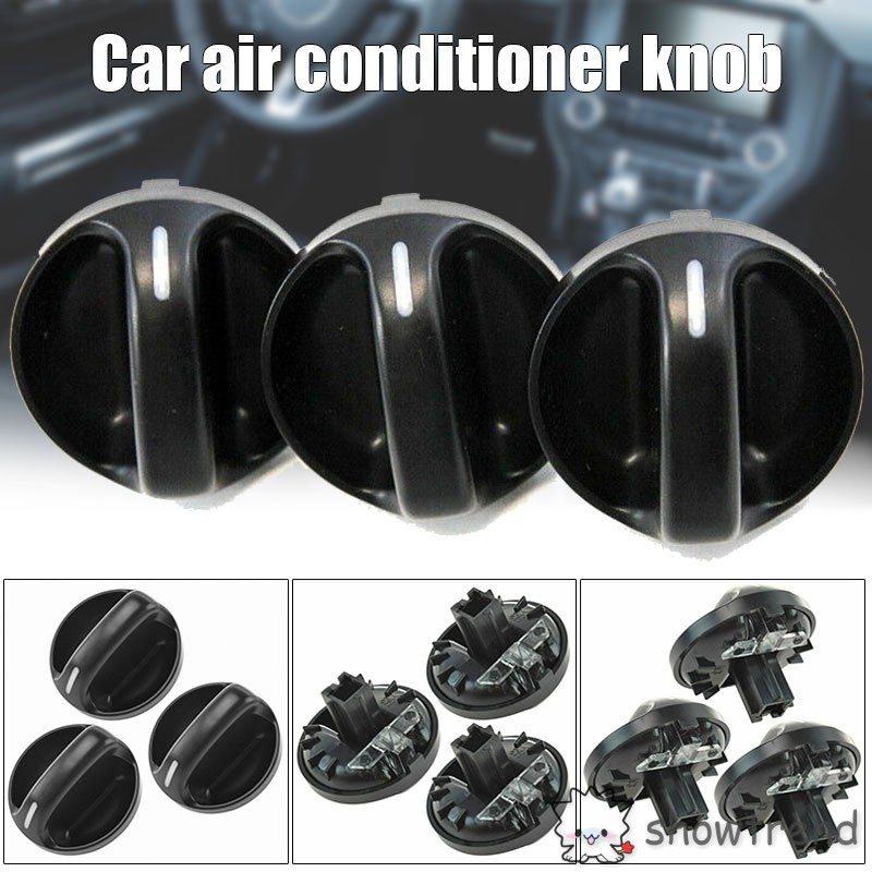 3x Replace Heater Air Conditioning A//C Control Knob for Toyota Tundra 559050C010
