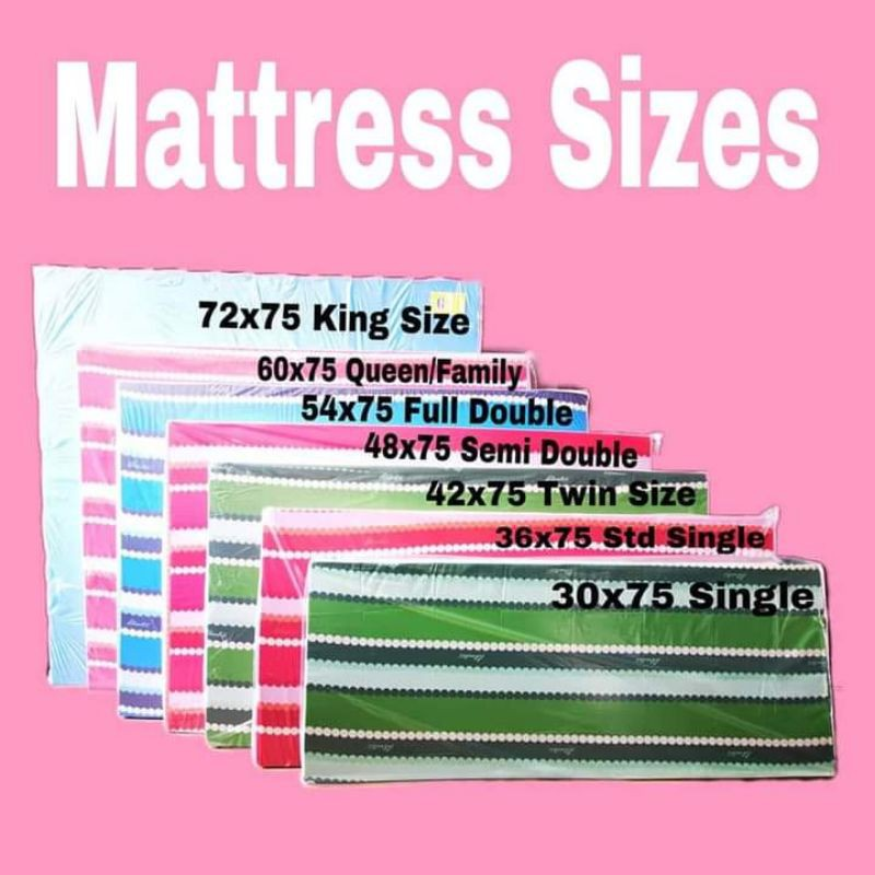 Uratex Foams Sofa Beds All Sizes, Philippines Bed Sizes
